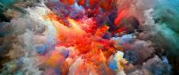Explosion of colors - HD wallpaper