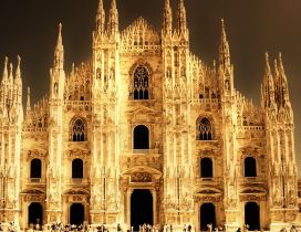 A stunning architecture, Cathedral from Milan