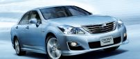 Toyota Crown Hybrid car - A beautiful car