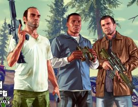 Grand Theft Auto 5 - Game wallpaper