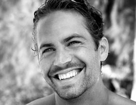 Actor Paul Walker with smile on his face