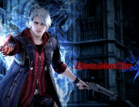 Devil May Cry 4 - Game poster