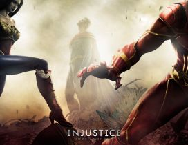 Characters of Injustice Gods Among Us Game
