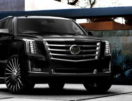 Black Cadillac Escalade - Gorgeous car