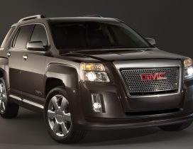 GMC Terrain Denali - Black big car