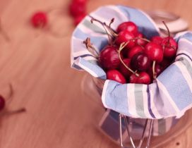 Cherries in a jam - HD delicious June fruits