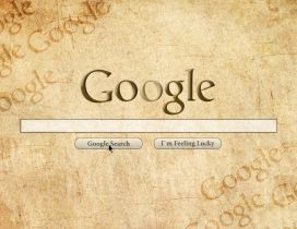 Funny Google logo - Search brands on the internet