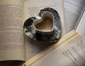 Read a great book and drink a special coffee - Good morning