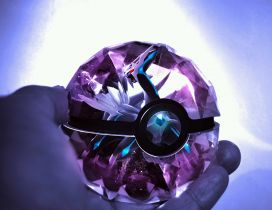 Catch all the pokemons with the purple pokemon ball