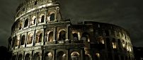 Wonderful architecture in Rome - Colosseum building