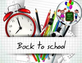 Happy kids - Back to school for a new year of learning