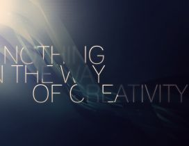Nothing in the way of creativity - HD wallpaper