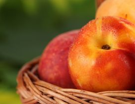 Good morning fresh fruits - Macro peaches