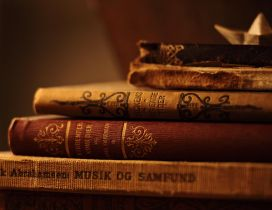 The humanity treasure - Old books