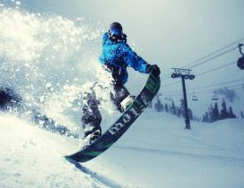 Wonderful winter sport - Snowboard time