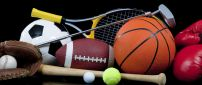 Balls from all sport - Do sport all the time- HD wallpaper