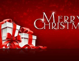 Merry Christmas - Gifts from Santa Claus with love