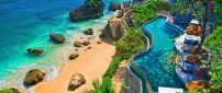 Wonderful pool and beach in Bali - Relaxing summer holiday