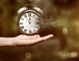 The time fly to fast - Feel the moment of love - Clock