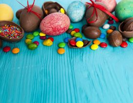 Delicious chocolate eggs - Gist for Easter Spring Holiday