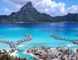 Perfect place for summer holiday - Tahiti Island super view
