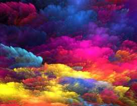 Wonderful art design computer color HD wallpaper