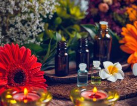 Aromatherapy with essential oils - Relaxing time