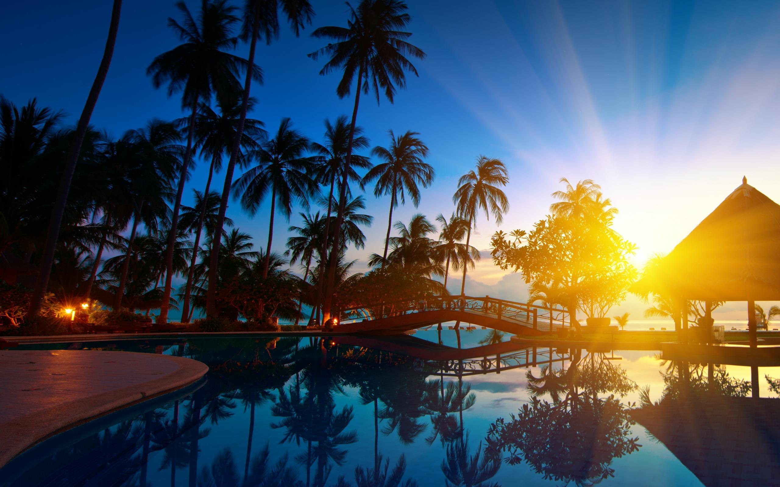 Sunrise On A Beach From Thailand A Dreamscape