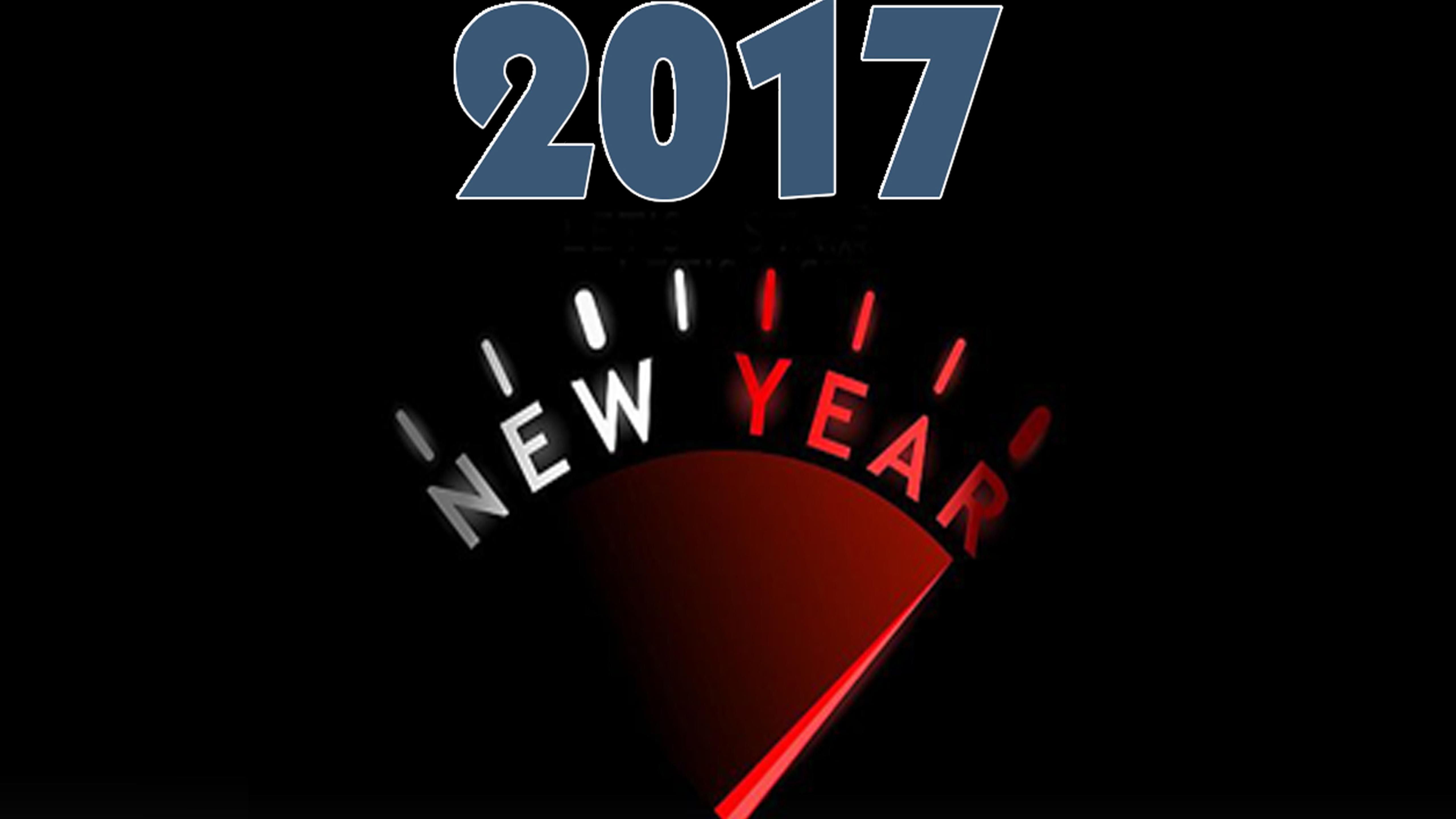 The New Year 2017 Begin Hd Wallpaper